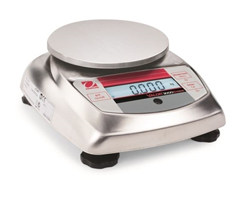 Valor 3000 Xtreme - Compact Bench/Food Scale, NSF, USDA-200g X 0.01g, 0.4409 X 0.00005lb