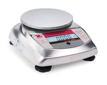 Valor 3000 Xtreme - Compact Bench/Food Scale, NSF, USDA-400g x 0.01g, 0.88185 X 0.00005 lb