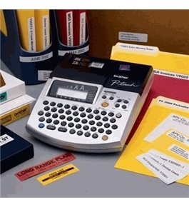 Brother PT-2600 AVERY /TZ Label Maker / Bar Code Creator and PC Label Make ALL IN ONE - ref