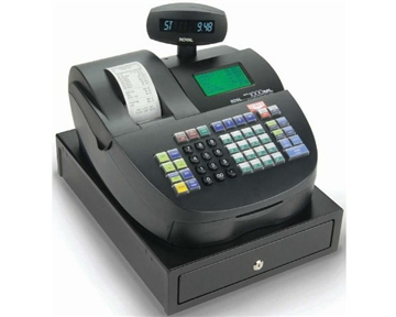 Royal Alpha 1000ML 200 Department 5000 Price Look-Up Heavy Duty Cash Register - Refurbished