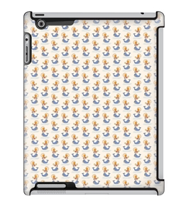 Uncommon LLC Deflector Hard Case for iPad 2/3/4, Hannah Yoon Float Away Whales (C0050-SH)