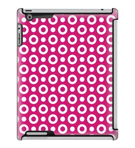 Uncommon LLC Deflector Hard Case for iPad 2/3/4, Donut Holes Pink (C0010-MR)