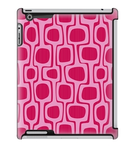 Uncommon LLC Deflector Hard Case for iPad 2/3/4, Pink Retro (C0010-KZ)