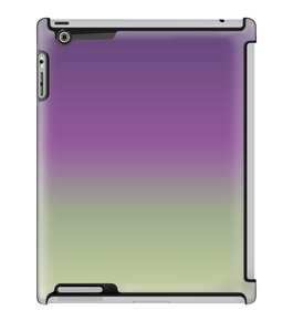 Uncommon LLC Deflector Hard Case for iPad 2/3/4, Gradient Purple (C0070-NZ)