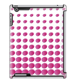 Uncommon LLC Pink Moons Deflector Hard Case for iPad 2/3/4 (C0060-RH)