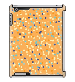 Uncommon LLC Confetti Dots Yellow Deflector Hard Case for iPad 2/3/4 (C0060-PS)