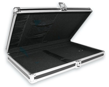 Vaultz Locking Storage Clipboard - Legal Size 16 x 2 x 10 Inches, Black (VZ00280)