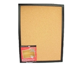 Dooley Boards Black Framed Cork Board, 17 x 23 Inch, Black (...