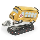 Adorable Mini School Bus Stapler 2000 Staples Included Great...