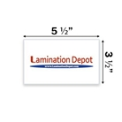 "Akiles 5 Mil File/Index Card Laminating Pouches 3-1/2"" x 5-1..."
