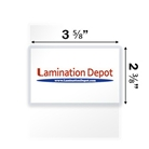 "Akiles 7 Mil Drivers License Laminating Pouches 2-3/8"" x 3-5..."