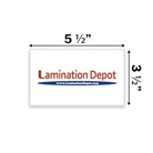 "Akiles 7 Mil File/Index Card Laminating Pouches 3-1/2"" x 5-1..."