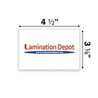 "Akiles 7 Mil Special Laminating Pouches 3-1/8"" x 4-1/2"" (100/box)"