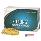 Alliance Sterling Ergonomically Correct Rubber Bands, No. 64...
