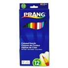 Dixon Prang Presharpened 7-Inch Colored Pencils, 12-Color Se...