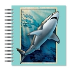 ECOeverywhere Vintage Shark Picture Photo Album, 18 Pages, H...