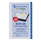 AT-A-GLANCE 2014 QuickNotes Desk Calendar Refill, 3.5 x 6 In...