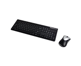 Fellowes Slimline Cordless Keyboard and Mouse Combo - 9893601