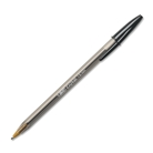 BIC Cirstal Bold 1.6mm Ball Pen, Black, 12 Pens