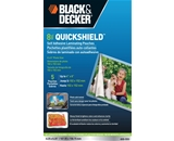 BLACK + DECKER QuickShield Self-Adhesive 4 x 6 Photo Laminat...