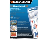 BLACK + DECKER TimeShield UV Thermal Laminating Pouches, Let...