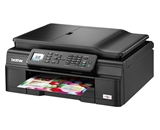 Brother Wireless Inkjet All-in-One w Auto Document Feeder - ...