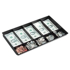 Buddy Products Coin and Bill Tray, 10 Compartments, Plastic,...