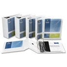Business Source 28445 D-Ring Binder, w/ Pockets, 5 in. Capac...