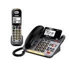 D3098S DECT 6.0 Expandable Corded/Cordless Phone withCaller ...