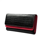 KLOUD « Black synthetic leather stone pattern double layer w...