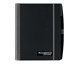 Cambridge Accents Business Notebook, Silver, Legal Rule, Lar...
