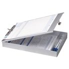 OfficemateOIC Aluminum Forms Storage Clipboard, 8.5 x 12 Inc...