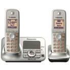 Panasonic KX TG4132N Dect 6.0 Cordless Phone with Answering ...