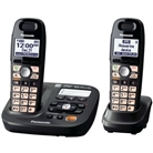 Panasonic KX-TG6592T DECT 6.0 Amplified Sound Cordless Phone...