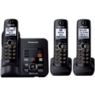 Panasonic KX-TG6633B DECT 6.0 Cordless Phone with Answering ...