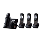 Panasonic KX-TG6644B DECT 6.0 Cordless Phone with Answering ...