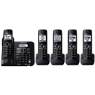 Panasonic KX-TG6645B DECT 6.0 Cordless Phone with Answering ...