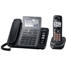 Panasonic KX-TG9471B 2-Line Corded/Cordless Phone with Digit...