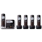 Panasonic KXTG7875S DECT 6.0 5-Handset High Quality Phone Sy...