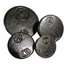Baker Scale Weights-Hand-Drilled for accuracy Cast iron weight