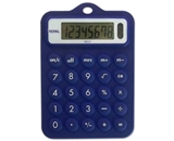 Royal RB102 Rubber Calculator - Blue