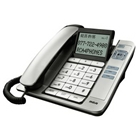 RCA 1113 Corded Speakerphone with Large Buttons, Tilt Screen...