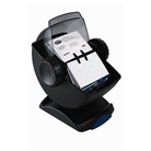 Rolodex 67242 Rolodex Covered Rotary Card File, Swivel, 200 ...