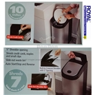 Royal KS7 Shredder / Kitchen Garbage Can ALL IN ONE - Refurbished