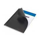 Matte Black Poly Letter Size Binding Cover 25 Pack