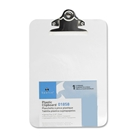 S.P. Richards Company Transparent Plastic Clipboard