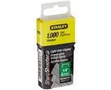 Stanley Tra204T 1/4 Inch Light Duty Narrow Crown Staples, Pa...