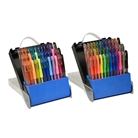 TEKwriterUSA Gelwriter Gel Pen Sets with Carrying Case, 72-C...