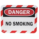Sign Holder, Magntc, Danger No Smoking, PK2