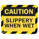 Sign Holder, Adhesive, Slippery, PK2